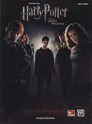 Harry Potter And The Order Of The Phoenix Selections Easy Piano Sheet Music Book