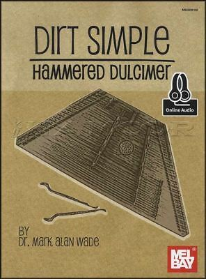 Dirt Simple Hammered Dulcimber Sheet Music Book with Audio Learn To Play Method