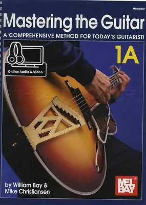 Mastering the Guitar 1A Music Book with Audio & Video Comprehensive Method