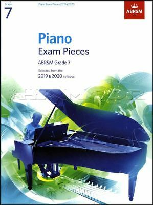 ABRSM Piano Exam Pieces 2019 2020 Syllabus Grade 7 Sheet Music Book Tests Songs