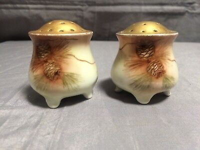 Porcelain Austrian Salt & Pepper Shakers
