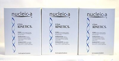 NUCLEIC-A CO-A KINETICS PERM (3 PACK) - Low Odor - Damage Free Perm