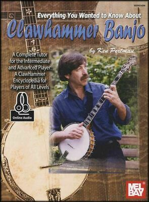 Everything You Wanted To Know About Clawhammer Banjo Sheet Music Book with Audio