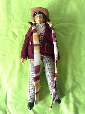 Dr Who Fourth Doctor Tom Baker Vintage 70's Action Figure Denys Fisher Doll 4th