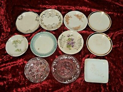 Set Of Eleven      Individual Butter Pat Dishes