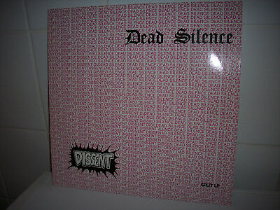 DEAD SILENCE / DISSENT  - 19 Song-Split LP (1988)  Double A Records    Ripcord