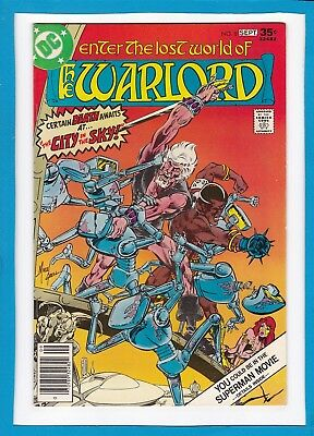 """Warlord #8_Sept 1977_Very Fine/near Mint_""""the City In The Sky""""_Bronze Age Dc!"""