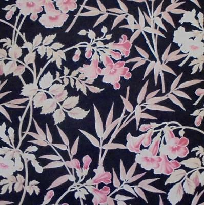 NEW STOCK BEAUTIFUL 19th CENTURY FRENCH LINEN & COTTON, BAMBOO c1870 52.
