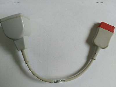 GE 2005772-001 Invasive Pressure Cable, IP Adapter Cable, IBP