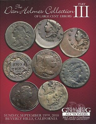 Large Cent & Half Cent Errors - Dan Holmes Part III & Davy Collections