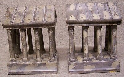 Bookends Medieval Antiquity Parthenon Acropolis Pair Book Ends NEW