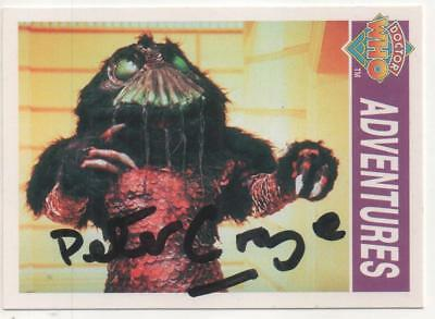 "Dr Who Cornerstone Trading Card No.283 Auto by Peter Craze ""Costa"""