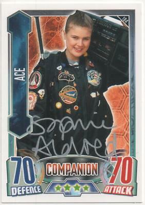 "Dr Who Alien Attax Card No.184 Auto by Sophie Aldred ""Ace"""
