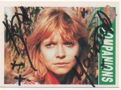 "Dr Who Cornerstone Trading Card No.77 Auto by Katy Manning ""Jo Grant"""
