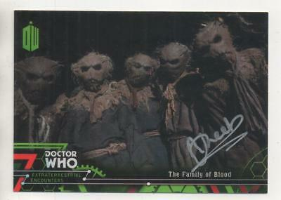 "Dr Who Topps Extraterrestrial Card No.35 Auto by Adam Sweet ""Scarecrow/Villager"""