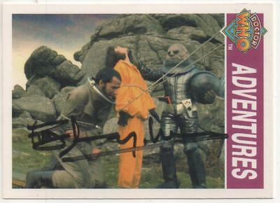 "Dr Who Cornerstone Trading Card No.143 Auto by Roger Murray-Leach ""Designer"""