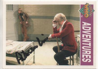 "Dr Who Cornerstone Trading Card No.138 Auto by Pik-Sen Lim ""Capt Chin Lee"""