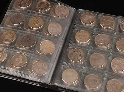 Christmas Gift 120 Commemorative Coins Iron Silver Plating Collection  Money