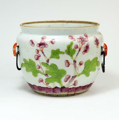 CHINESE Floral Decorated ANTIQUE PORCELAIN BOWL