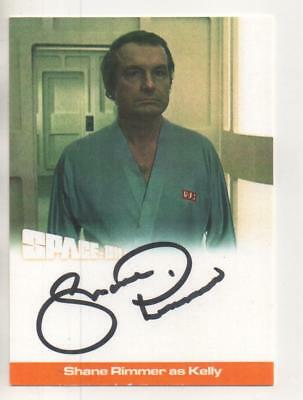 "Space 1999  Auto SERIES 2 Card No.SR1 Shane Rimmer ""Kelly"""