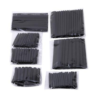 127Pcs 2:1 Polyolefin Heat Shrink Tubing Tube Sleeve Wrap Wire Assortment