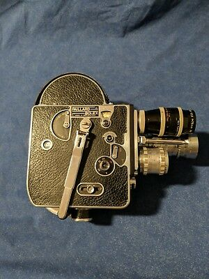 Kern Paillard Bolex H16-F 25 Reflex 16mm Movie Film Camera
