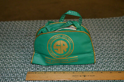 "Southern Railway 7"" Child's Passenger Luggage Bag By Airline Textile Mfg Co"