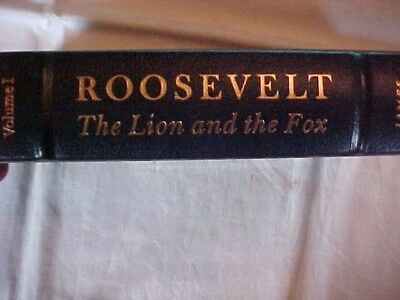 Roosevelt: The Lion And The Fox Volume I Easton Leather