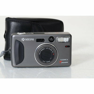 Kyocera Yashica T Zoom Compact Camera with Carl Zeiss Vario Tessar 4,5 -8/28-70