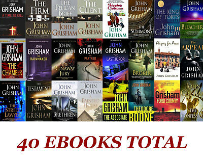 John Grisham Kit - The Reckoning ++ 40 Books set - Fast Delivery (PDF - E-B00K)