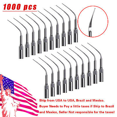 1000* Dental Ultrasonic Scaler Tip Perio Tips PD3 Fit DTE SATELEC scaler SKYSEA