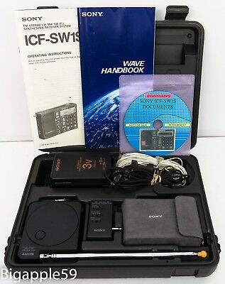Sony ICF-SW1S Shortwave AM FM Radio ***RESTORED***CARRY THE WORLD IN YOUR HAND**