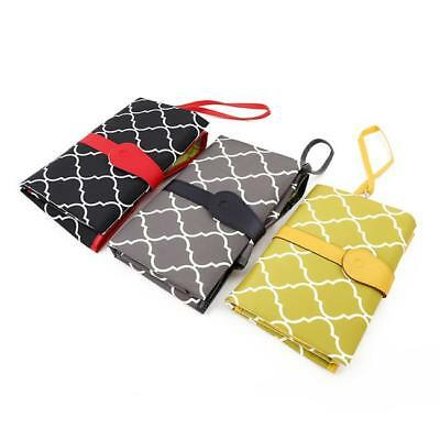 Baby Nappy Bag Diaper Changing Change Clutch Mat Foldable Pad Handbag Wallet LC