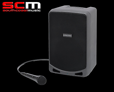 Samson Expedition XP106 Rechargeable Portable PA Bluetooth and Wired Microphone