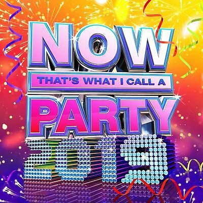 NOW THAT'S WHAT I CALL A PARTY 2019 (Various Artists) 2 CD Set (2018)