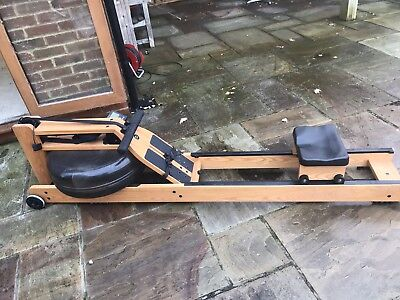 WaterRower Oxbridge Rowing Machine with S3 Performance Monitor in Cherrywood
