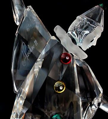 SIGNED BY ADI STOKER Pierrot Swarovski Collectors Society 1999 exclusive piece