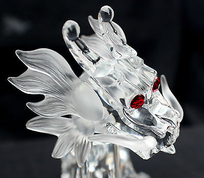 SIGNED BY GABRIELE STAMEY 'The Dragon' Swarovski Collectors Society 1997 excl.