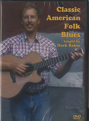 Classic American Folk Blues Guitar Tuition DVD by Duck Baker