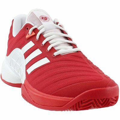 best website 6c5d9 6b7bc adidas Barricade 2018 Clay Tennis Shoes - Red - Mens