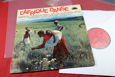 various  L'AFRIQUE DANSE  -  LP African 360.001 France 1969