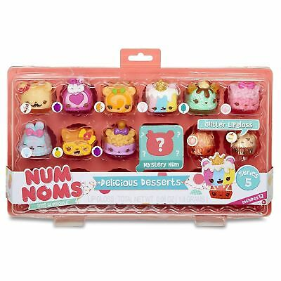 Num Noms Series 5 Delicious Desserts Glitter Lipgloss 12 Pack