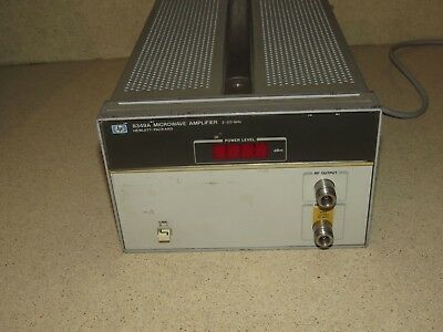 HP 8349A Microwave Amplifier 2-20 GHz