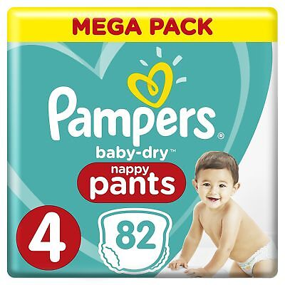 Pampers Taille 4 9 15 Kg Baby Dry Pants Couches Culottes Mega