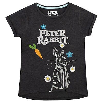 Girls Peter Rabbit T-Shirt | Peter Rabbit Tee | Kids Peter Rabbit Top | NEW