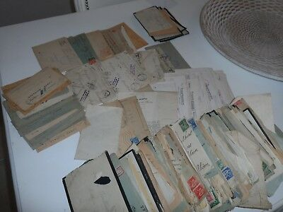 lot de 400 lettres courriers guerre 39-45 documents,officiels divers voir scans
