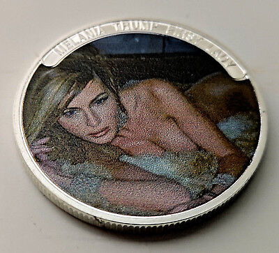 MELANIA Ivanka TRUMP Women Silver Coin Naked US PRESIDENT DONALD Lady Sexy Hot