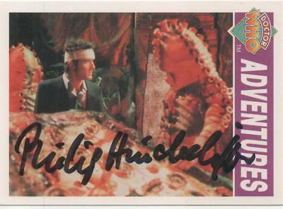 "Dr Who Cornerstone Zygon Card No.22 Auto by Philip Hinchcliffe ""Producer"""