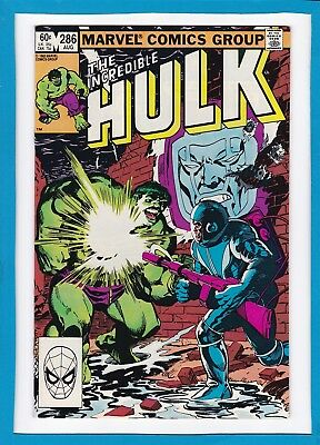 Incredible Hulk #286_August 1983_Nm Minus_Kang The Conqueror_Hero Of The Day!