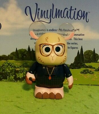"DISNEY World Vinylmation 3"" Park Set 1 Zootopia Bellwether Sheep"